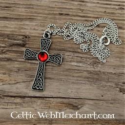 Wiązane krzyż wisiorek