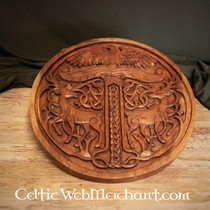 Wooden Yggdrasil with stags