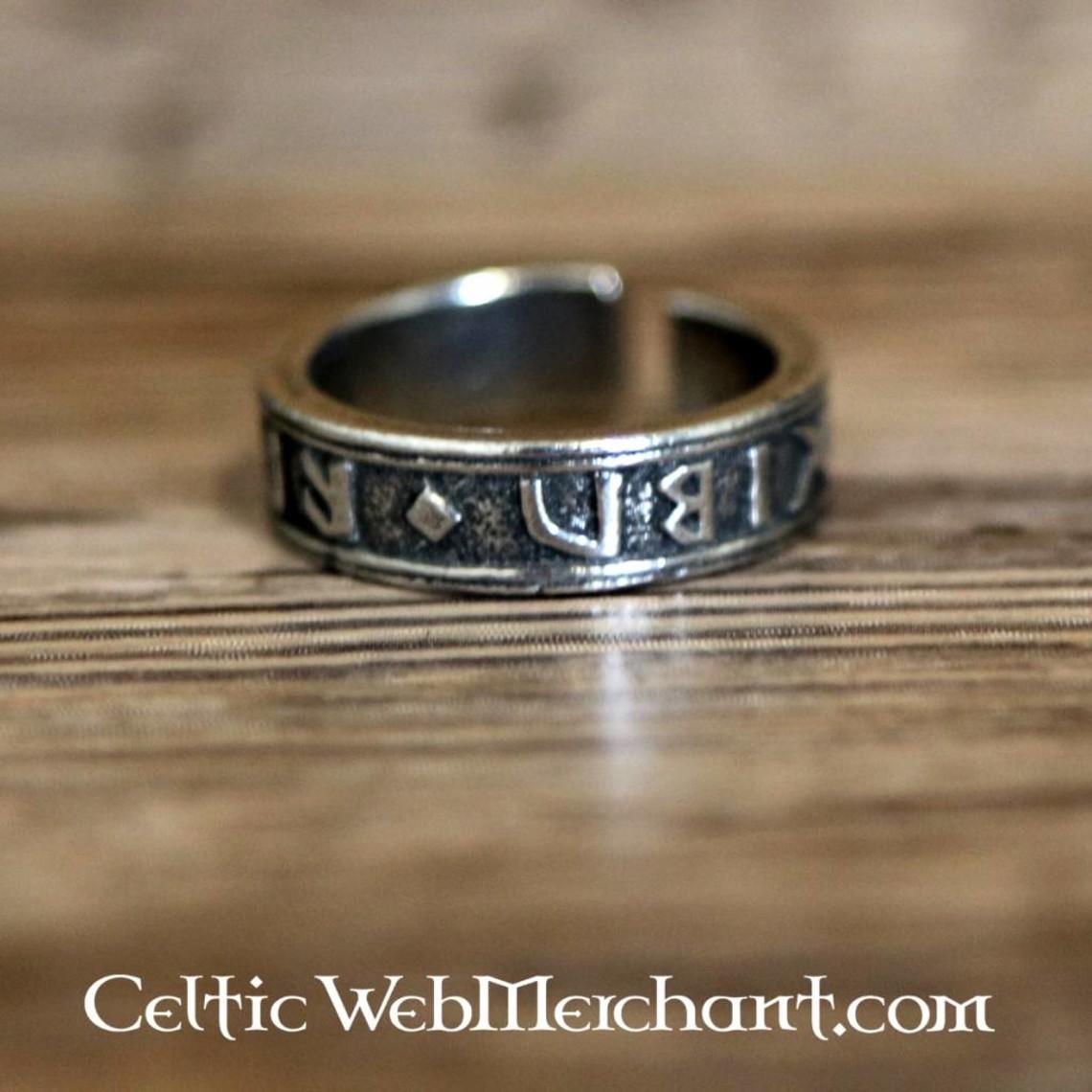 Anello runico, peltro