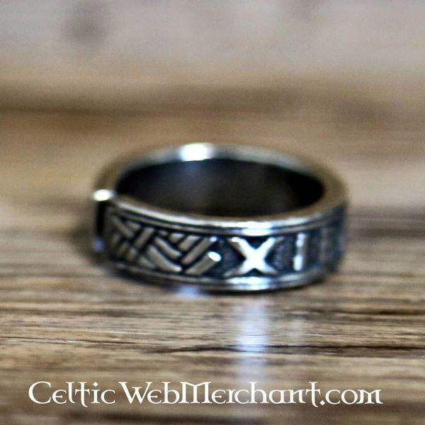 Anneau de runes, étain