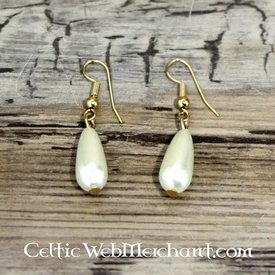 Orecchini di perle romane