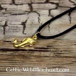 Roman dolphin pendant