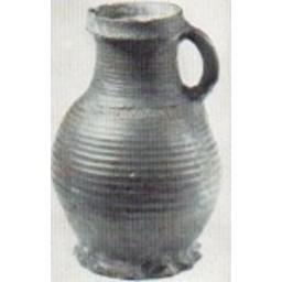 13th century jug with imprints