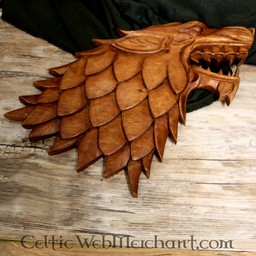 Wood carving Wolf