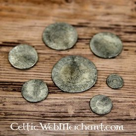 Charles I, sieben Münze gesetzt