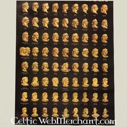 Cartel emperadores romanos