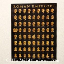 Poster Roman emperors