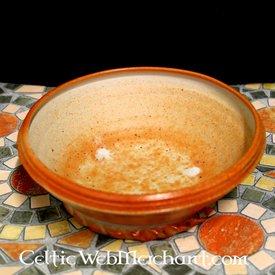 Historyczny danie jedzenie, płomień pieca