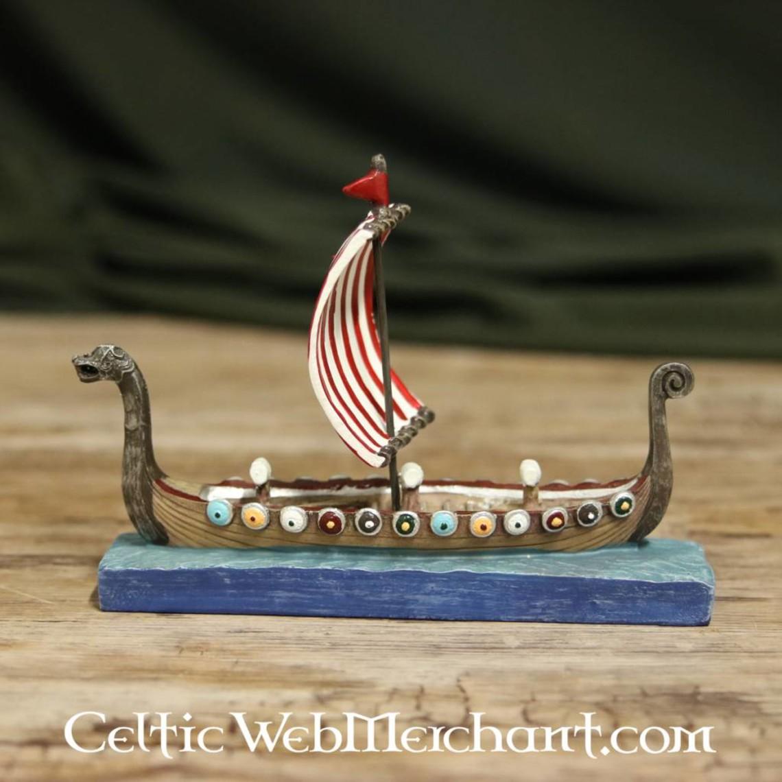 Viking longship Modell
