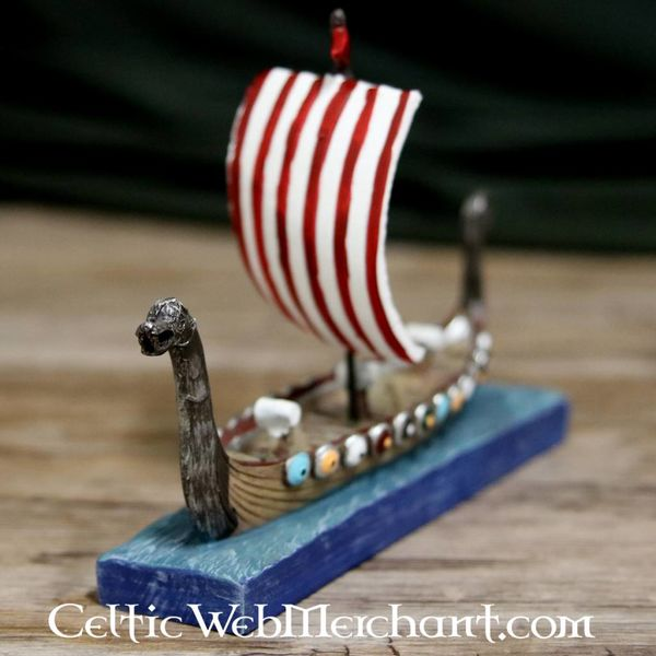 Viking drakkar model