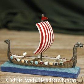 modelo de navio viking