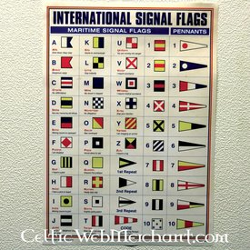 Plakat Internationale signal flag