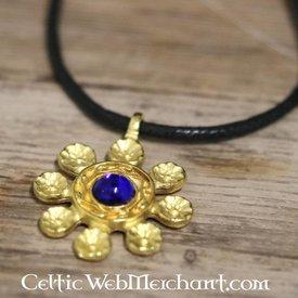 Flower pendant, 12th-13th century