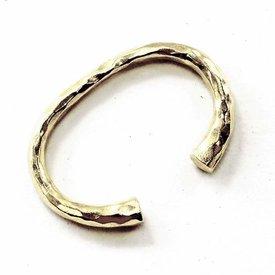 Laat-klassieke Germaanse armband, verzilverd