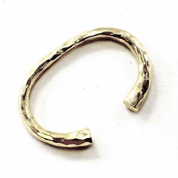 Sent klassisk germansk armbånd, forsølvede