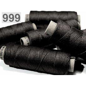 Fil de lin noir 50m