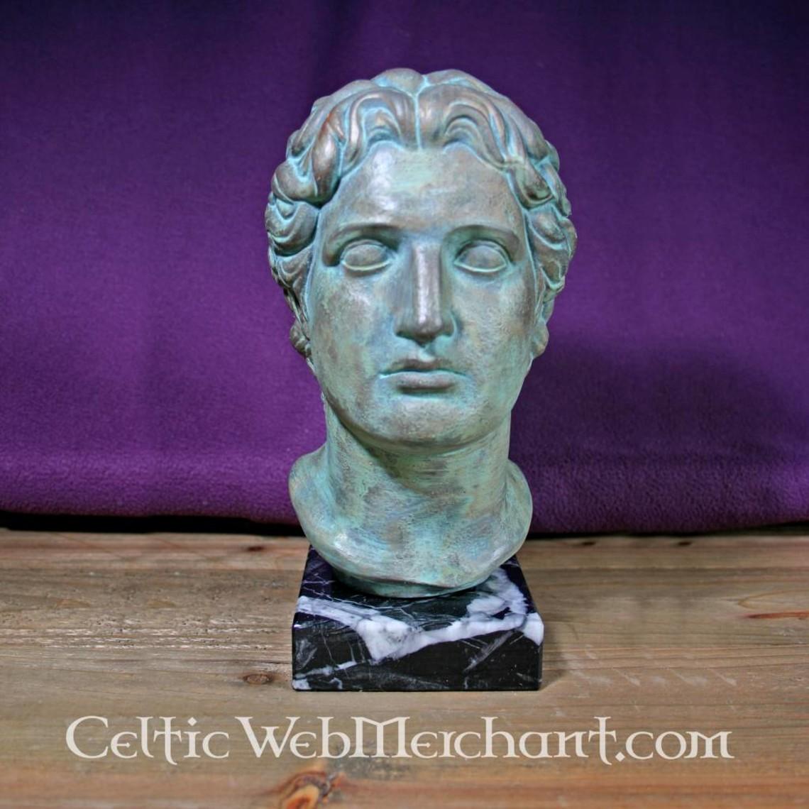 Busto Alejandro Magno