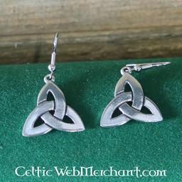 Earrings triskelion