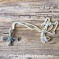 Kruis Cuthert van Lindisfarne, tin