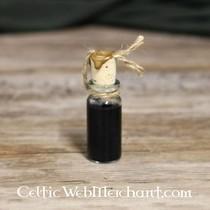 Silk thread golden yellow, 10 m