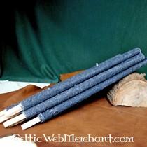 50x nappaleren smal rechthoekig stuk voor schaalpantser, lichtbruin