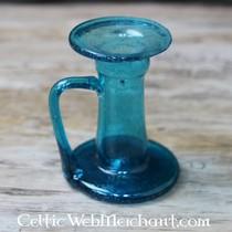 Roman szklany dzbanek odlewania