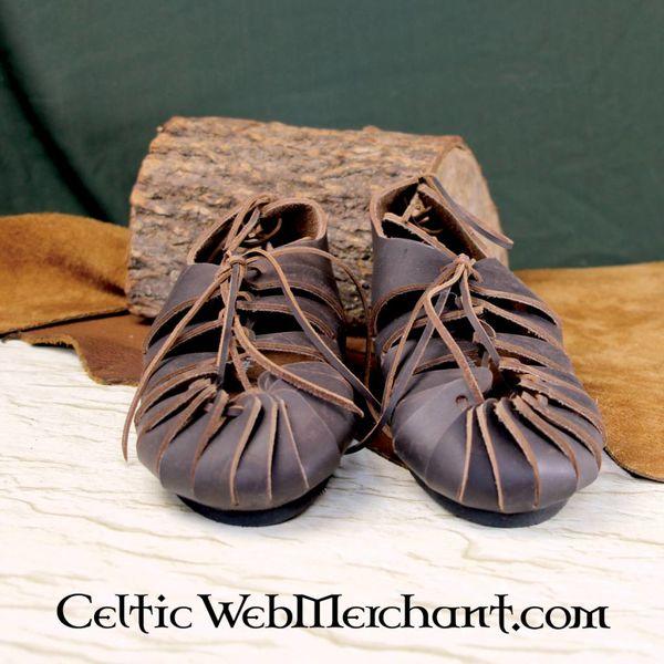 Leonardo Carbone Læder jernalderen sandaler