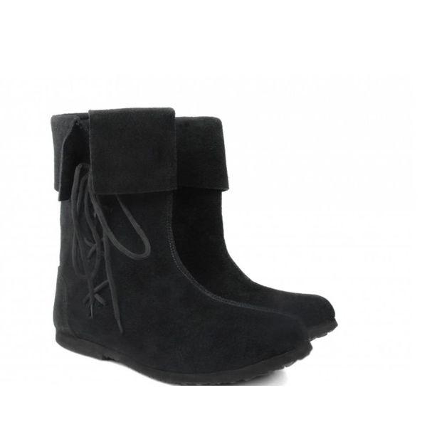 Leonardo Carbone Historyczne dzieci buty czarny