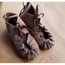 Sandały z epoki żelaza dla dzieci, brązowe