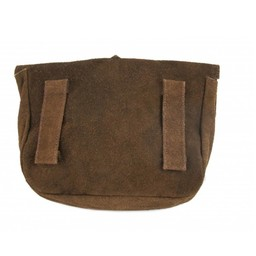 Bag with wolf buckle, brown