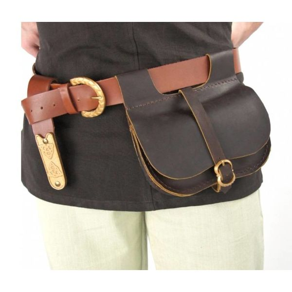 Kidney pouch Rutgher, brown