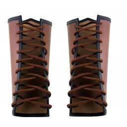 Rustningsarmar Vegvísir, brun