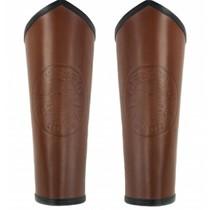 Armbeschermers Vegvisir, bruin