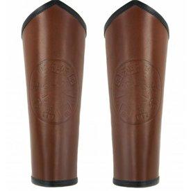 Armskinner Vegvisir, brun
