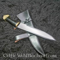 Deepeeka Triquetra seax with horn handle