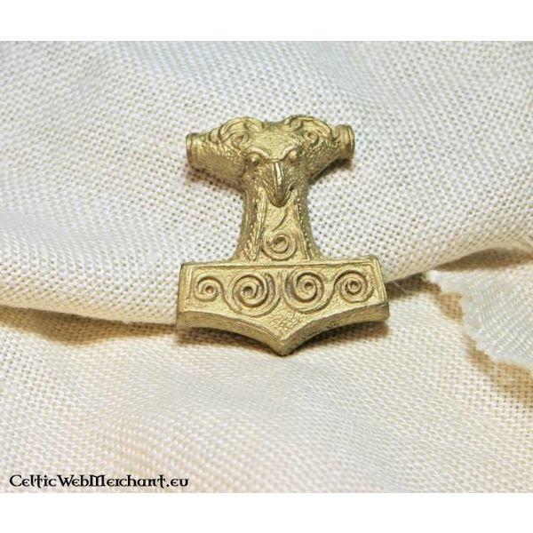 Deepeeka Marteau de Thor de Skane, en laiton