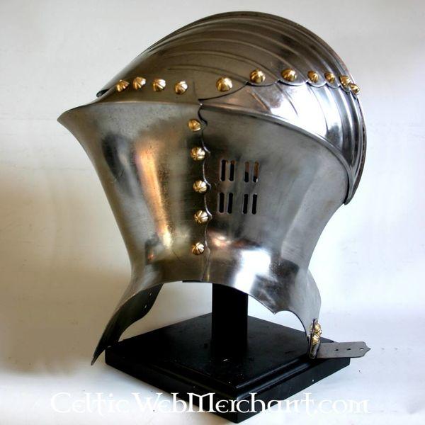 Deepeeka Tysk frog-faced hjelm