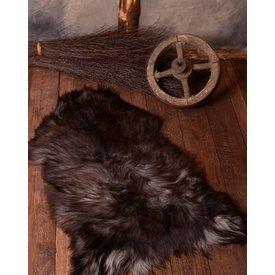 Piel de oveja nórdica en negro