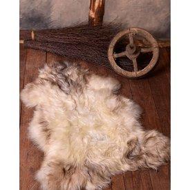 Pelle di pecora nordica bianca