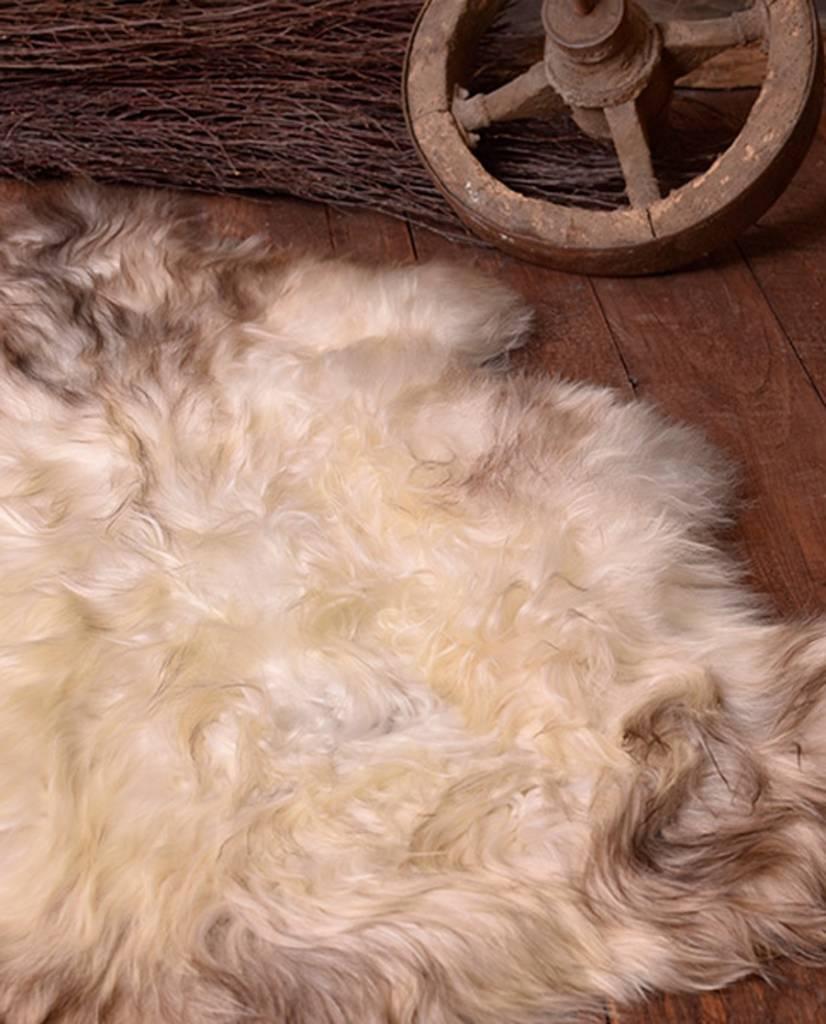 Nordic fårskinn vit