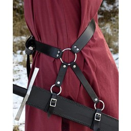 Cinturón tradicional medieval para espada