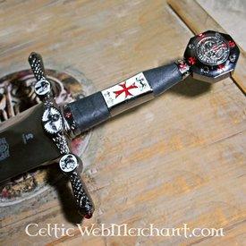 Epée de Templiers décorée