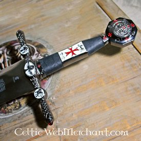 Urządzone Templariusz miecz