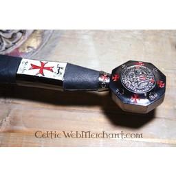 Dekorerad Tempelriddare svärd