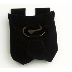Bæltepose spiral, sort