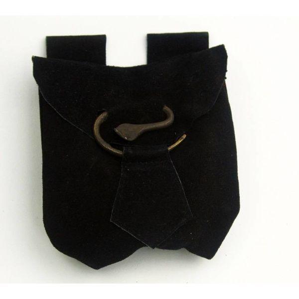 Riemtas spiraal, zwart