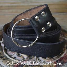 Cintura con nodo celtico, nero