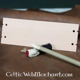 Folha de escrita em madeira Vindolanda