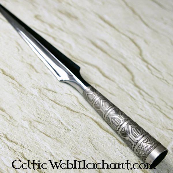 CAS Hanwei Viking Throwing Spearhead, ornate socket