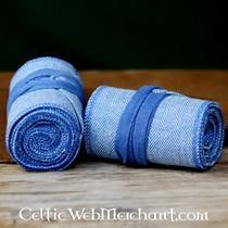 Jambières avec motif à chevrons, bleu